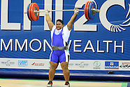 Commonwealth Games Day 7 Weightlifting