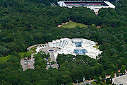 Nederland, Gelderland, Gemeente Nijmegen, 26-06-2013; Scandic Sanadome, Wellness en thermen. Zwembad<br /> luchtfoto (toeslag op standaard tarieven);<br /> aerial photo (additional fee required);<br /> copyright foto/photo Siebe Swart.