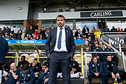 Fulham manager Slavisa Jokanovic during the EFL Sky Bet Championship match between Burton Albion and Fulham at the Pirelli Stadium, Burton upon Trent, England on 16 September 2017. Photo by Richard Holmes.
