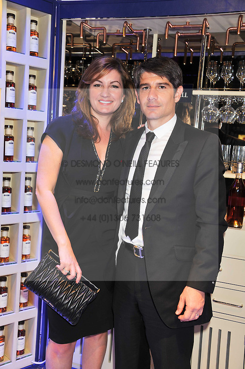 KARREN BRADY and PAUL PESCHISOLIDO at a reception and dinner in association with Martell to launch Raymond Blanc's personal crusade to 'Celebrate French Craftsmanship in the UK' held at the Mandarin Oriental Hotel followed by dinner in the windows of Harrods, Knightsbridge, London on 18th October 2011.