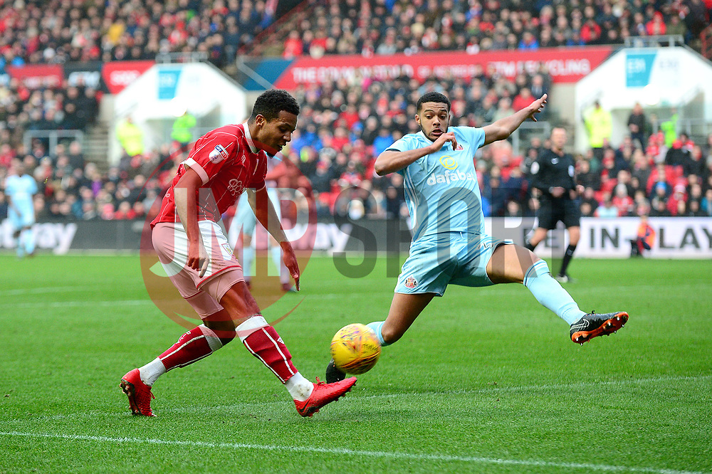 Korey Smith of Bristol City - Mandatory by-line: Dougie Allward/JMP - 10/02/2018 - FOOTBALL - Ashton Gate Stadium - Bristol, England - Bristol City v Sunderland - Sky Bet Championship