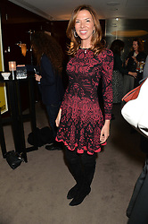 "HEATHER KERZNER at a private screening Of ""The Gun, The Cake and The Butterfly"" hosted by Amanda Eliasch at The Bulgari Hotel, 171 Knightsbridge, London on 24th March 2014."