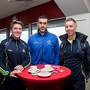 04.04.2016              <br /> A major event in Thomond Park to launch LIT&rsquo;s 2016/17 Sports Scholarship Programme has been told that the welfare of young athletes is a pressing issue that requires co-ordinated management.  <br /> <br /> Pictured at the event were, Eoin Ryan, Damien Gillane and Noel Hartigan.<br /> <br /> LIT&rsquo;s Scholarship Programme has a focus on athlete support and welfare, including off-field mentoring and education support for scholars.<br /> <br /> Joe O&rsquo;Connor, fitness consultant &ndash; whose credits include Ireland&rsquo;s Fittest Family, roles in Athletics Ireland, Horse Sport Ireland and senior inter-county GAA teams &ndash; told the event that the monitoring of training loads is critical in managing the welfare of young players, but warned that &ldquo;This involves so many people other than the athletes themselves.  Coaches across different teams and codes, in schools and colleges all have to play a role, as do parents and mentors.  Along with a correct lifestyle, this is the way to ensure that athletes maintain their health and fitness during their playing careers.  Its something we all need to take on board.&rdquo;. Picture: Alan Place/Fusionshooters