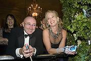 PHIL COLLINS AND HIS EX WIFE JILL COLLINS, Crillon Debutante Ball 2007,  Crillon Hotel Paris. 24 November 2007. -DO NOT ARCHIVE-© Copyright Photograph by Dafydd Jones. 248 Clapham Rd. London SW9 0PZ. Tel 0207 820 0771. www.dafjones.com.