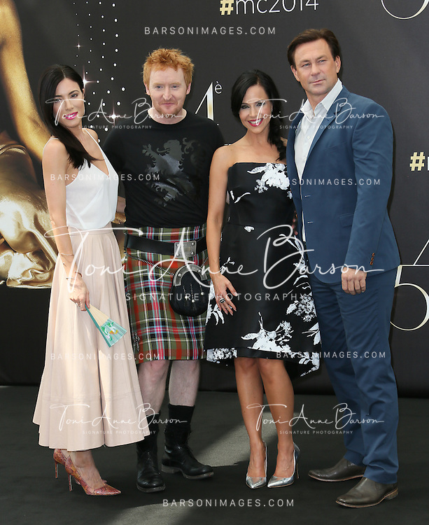 "MONTE-CARLO, MONACO - JUNE 10:  Jaime Murray, Tony Curran, Julie Benz and Grant Bowler attend ""Defiance"" Photocall at the Grimaldi Forum on June 10, 2014 in Monte-Carlo, Monaco.  (Photo by Tony Barson/FilmMagic)"