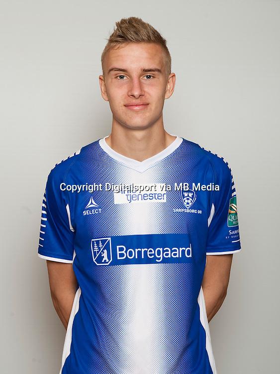 Fotball , Tippeligaen 2014 , Elitesereien , portrett , portretter , Sarpsborg 08 , Martin Hoel Andersen <br /> Foto Astrid M. Nordhaug