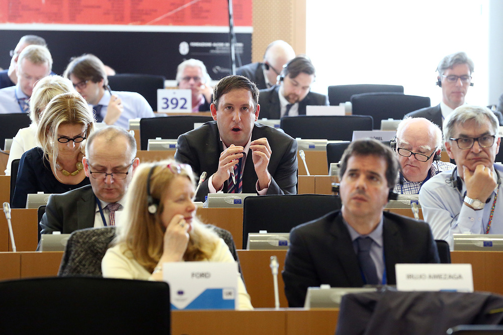 12 May 2017, 123rd Plenary Session of the European Committee of the Regions <br /> Belgium - Brussels - May 2017 <br /> <br /> Mr MCCARTHY Kieran, Cork City Council,	Ireland<br /> <br /> &copy; European Union / Patrick Mascart