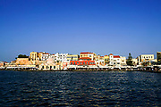 Cityscape of Chania, Crete, Greece