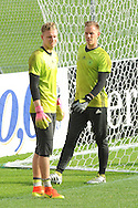Bernd Leno and Torwart Marc-Andre ter Stegen during Germany training at Stadio Communale, Ascona<br /> Picture by EXPA Pictures/Focus Images Ltd 07814482222<br /> 31/05/2016<br /> ***UK &amp; IRELAND ONLY***<br /> EXPA-EIB-160531-0032.jpg