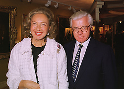 LORD & LADY STEVENS OF LUDGATE at a reception in London on 10th June 1998.MIE 100