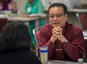 Jonathan Trinh participates in the New and Emerging Leaders Institute, July 15, 2014.