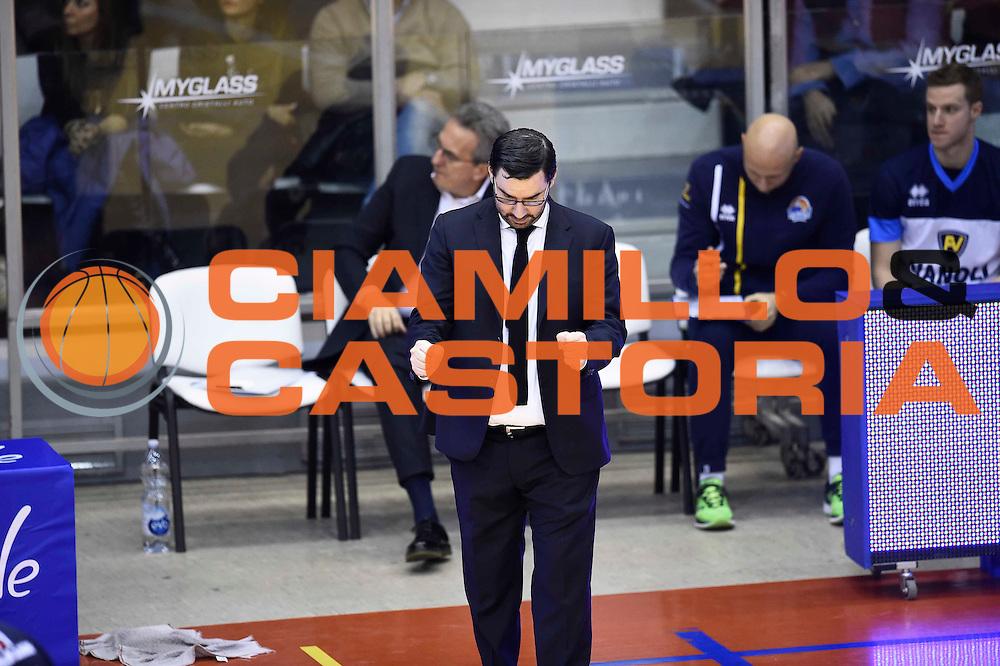 Paolo Lepore<br /> Grissin Bon Reggio Emilia - Vanoli Cremona<br /> Lega Basket Serie A 2016/2017<br /> Reggio Emilia, 08/01/2017<br /> Foto Ciamillo-Castoria