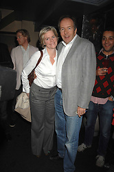 LORD & LADY BRUCE DUNDAS at a party hosted by Kitts nightclub in honour of Ed Godrich to than him for his work on designing the club in Sloane Square, London on 1st March 2007.<br />