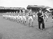 Neg No: .871/a1908-a1919...14081955AISFCSF...14.08.1955.All Ireland Senior Football Championship - Semi-Final..Kerry.2-10 Cavan.1-13...