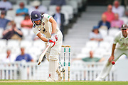 Ollie Robinson of Kent batting during the Specsavers County Champ Div 1 match between Surrey County Cricket Club and Kent County Cricket Club at the Kia Oval, Kennington, United Kingdom on 10 July 2019.