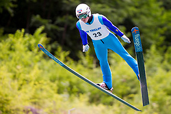 Martti Nomme from Estonia during Ski Jumping Continental Cup Kranj 2018, on July 8, 2018 in Kranj, Slovenia. Photo by Urban Urbanc / Sportida