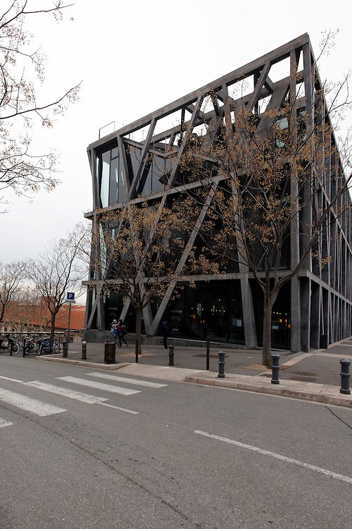 Outside view of National Choreographic centre, called The Pavillon Noir, in Aix-en-Provence, France.