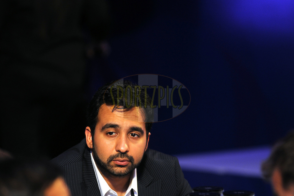 Raj Kundar of Rajasthan Royals  during the 2011 IPL (Indian Premier League ) Player Auction held in Bengaluru, Bangalore, Karnataka, India on the 8th and 9th January 2011..Photo by Pal Pillai/BCCI/SPORTZPICS