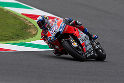 June 1, 2018 - Scarperia, Imola, Italy - Andrea Dovizioso of Ducati Team during the Free Practice 2 of the Oakley Grand Prix of Italy, at International  Circuit of Mugello, on June 01, 2018 in Mugello, Italy  (Credit Image: © Danilo Di Giovanni/NurPhoto via ZUMA Press)