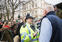 Westminster, London, March 23rd 2016 British farmers from across the UK march on Downing Street to deliver a petition call for government support in securing fairer producer prices. &copy;Paul Davey<br /> FOR LICENCING CONTACT: Paul Davey +44 (0) 7966 016 296 paul@pauldaveycreative.co.uk