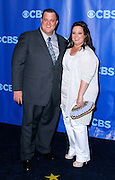 Melissa McCarthy and Billy Gerdell attend the CBS Prime Time 2011-12 Upfronts in the Tent at Lincoln Center  in New York City on May 18, 2011.
