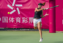 October 29, 2018 - Nanning, Nanning, China - Nanning,CHINA-Chinese tennis player Ye Qiuyu and South Korean tennis player Kim Narae win the gold medal at 2018 International Tennis Federation in Nanning, southwest China's Guangxi. (Credit Image: © SIPA Asia via ZUMA Wire)