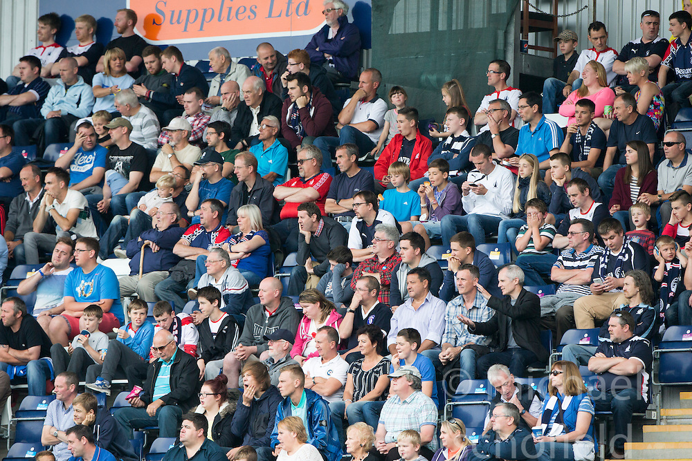 South stand.<br /> Falkirk 1 v 1 Queen of the South, Scottish Championship game played today at The Falkirk Stadium.