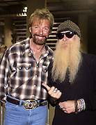 Brooks &amp; Dunn's RONNIE BROOKS &amp; ZZ Topp's BILLY GIBBONS at the first ever CMT Flameworthy Video Music Awards at the Gaylord Entertainment Center in Nashville Tennesee. 6/12/02<br /> Photo by Rick Diamond/PictureGroup.