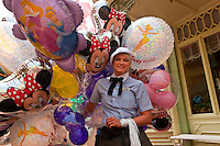 Disney balloons, Magic Kingdom, Walt Disney World, Orlando, Florida USA