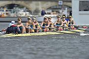 Henley, GREAT BRITAIN.  Remenham Challenge Cup .  NRCE AUS. AUS W8+ [U23], during their Friday heat.  2012 Henley Royal Regatta. ..Friday  19:37:27  29/06/2012. [Mandatory Credit, Peter Spurrier/Intersport-images]...Rowing Courses, Henley Reach, Henley, ENGLAND . HRR.