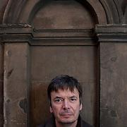 Ian Rankin, author. Edinburgh. 20 Oct 2015. © Photo by Tina Norris 07775 593 830 All fees payable to Tina Norris. No unauthorised use including web use.