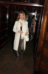 SABRINA GUINNESS at a party following the premier of Blood Diamonds hosted by Amnesty at The Dorchester, Park Lane, London on 23rd January 2007.<br /><br />NON EXCLUSIVE - WORLD RIGHTS