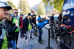 Frutabela team at Men Elite Individual Time trial a 52.5km race from Rattenberg to Innsbruck 582m at the 91st UCI Road World Championships 2018 / ITT / RWC / on September 26, 2018 in Innsbruck, Austria. Photo by Vid Ponikvar / Sportida