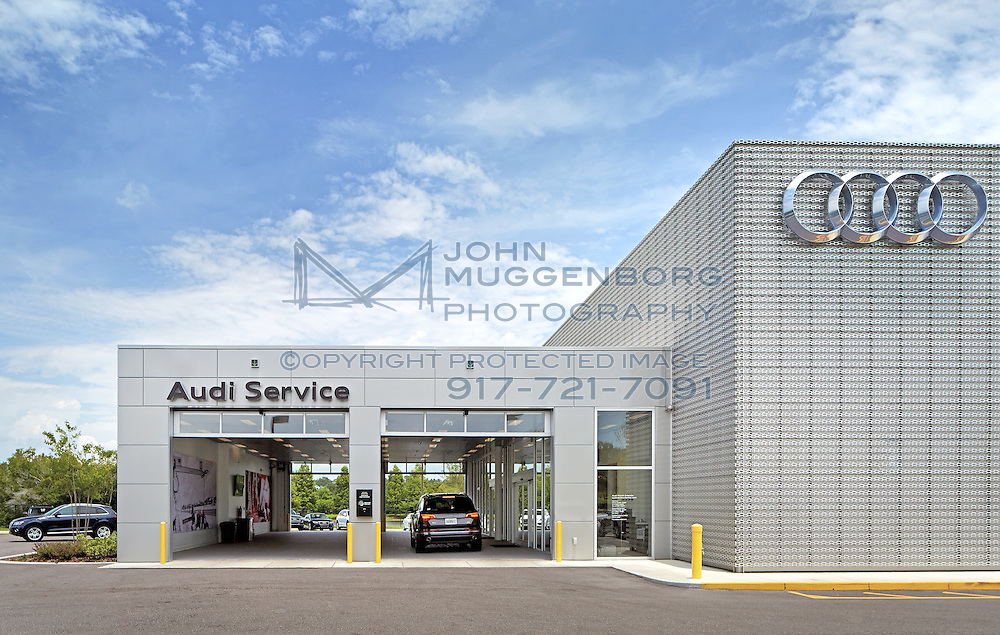 Image Of The Audi Terminal Dealership In North Orlando Fl New