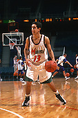 1999 Hurricanes Men's Basketball Action