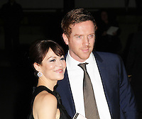 Damian Lewis; Helen McCrory, The London Evening Standard British Film Awards, London Film Museum, London UK, 04 February 2013, (Photo by Richard Goldschmidt)