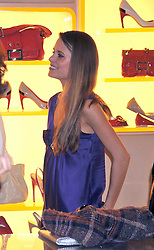 IRENE FORTE at a reception in aid of Children in Crisis held at the Roger Vivier store, 188 Sloane Street, London on 19th March 2009.