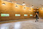 Town Hall Interior. Newbern, Alabama | Architects: Rural Studio Team - Brett Bowers, David Frazier, Mallory Garrett, Zane Morgan