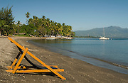 Chair on Gading Beach, Maumere, Flores