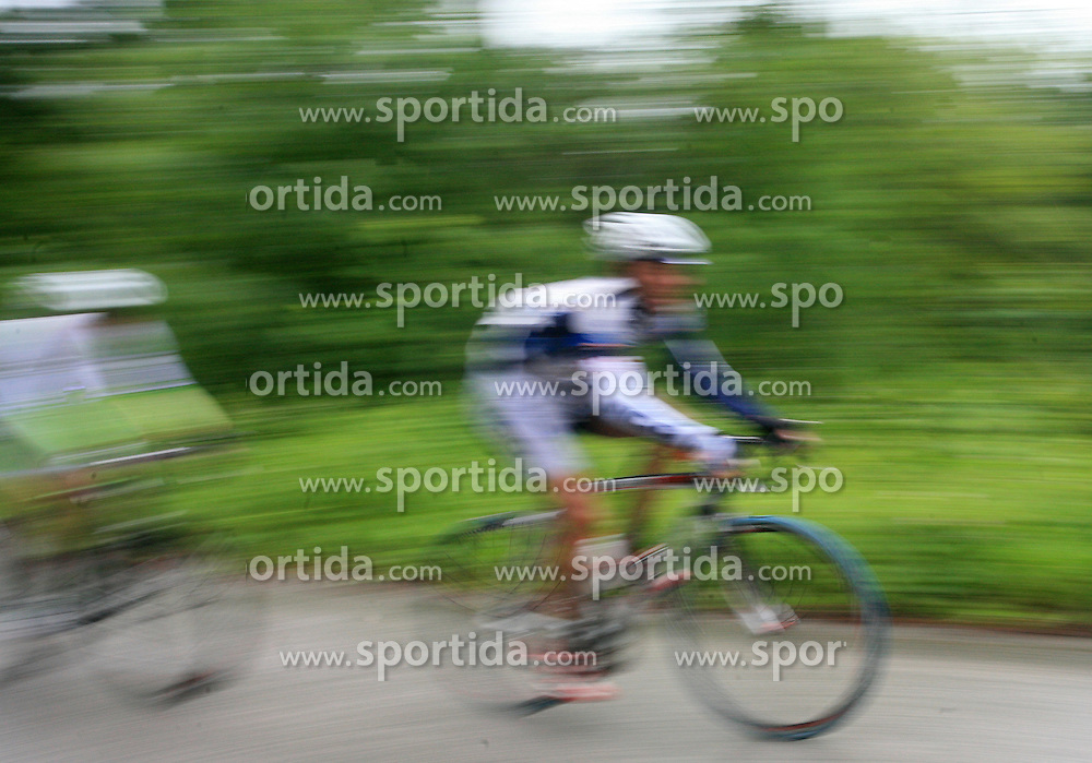 Rider during 3rd stage of the 15th Tour de Slovenie from Skofja Loka to Krvavec (129,5 km), on June 13,2008, Slovenia. (Photo by Vid Ponikvar / Sportal Images)/ Sportida)
