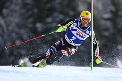 06.01.2014, Stelvio, Bormio, ITA, FIS Weltcup Ski Alpin, Bormio, Slalom, Herren, im Bild Ivica Kostelic // Ivica Kostelic  in action during mens Slalom of the Bormio FIS Ski World Cup at the Stelvio in Bormio, Italy on 2014/01/06. EXPA Pictures © 2014, PhotoCredit: EXPA/ Sammy Minkoff<br /> <br /> *****ATTENTION - OUT of GER*****