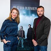 NLD/Hilversum/20180309 - Cast presentatie 'De 12 van Oldenheim', <br /> Noortje Herlaar en Nasrdin Dchar
