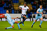 Bolton Wanderers forward Sammy Ameobi (10)  in action  during the EFL Sky Bet Championship match between Bolton Wanderers and Sunderland at the Macron Stadium, Bolton, England on 20 February 2018. Picture by Simon Davies.