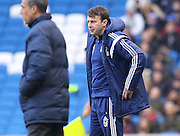 Nottingham Forest's Manager Dougie Freedman during the Sky Bet Championship match between Brighton and Hove Albion and Nottingham Forest at the American Express Community Stadium, Brighton and Hove, England on 7 February 2015. Photo by Phil Duncan.