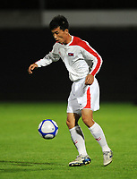 Korea DPR vs Nantes FC 09/10/09 Ji Yun Nam (Korea DPR). North Korea make a rare appearance in the West having already qualified for World Cup 2010. Their last appearance in a major competiition was World Cup 1966 when they famously knocked Italy out of the tournament. Photo Patrick McCann/Fotosports International