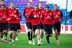CARDIFF, WALES - Thursday, October 10, 2013: Wales' Craig Bellamy during a training session at the Cardiff City Stadium ahead of the 2014 FIFA World Cup Brazil Qualifying Group A match against Macedonia. (Pic by David Rawcliffe/Propaganda)