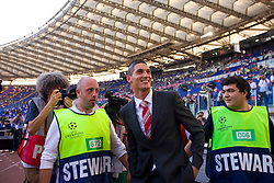 ROME, ITALY - Tuesday, May 26, 2009: Manchester United's Federico Macheda before the UEFA Champions League Final at the Stadio Olimpico. (Pic by Carlo Baroncini/Propaganda)