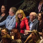NLD/Hilversum/20180216 - Finale The voice of Holland 2018, ouders Samantha Steenwijk en haar partner