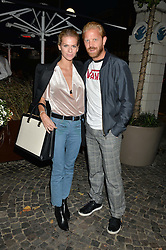 ALISTAIR GUY and BARBORA BEDIOVA at the Bluebird's End of Summer Party with Taylor Morris held at Bluebird, 350 King's Road, London on 29th September 2016.