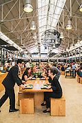 Time Out Mercado da Ribeira. Food court at Mercado da Ribeira.